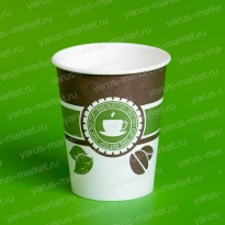 Бумажные стаканы, 450 мл, с логотипом