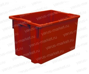 Пластиковый ящик, 450х300х223, для мороженого