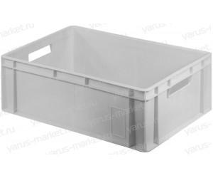 Пластиковый ящик 600х400х230 для складской продукции
