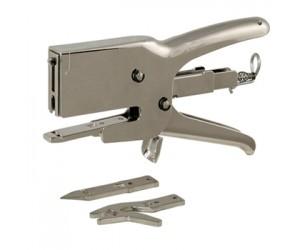 Механический степлер HSP 12 для скрепления картона (3 насадки в комплекте)