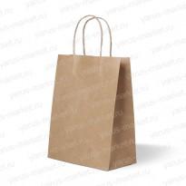 Крафт-пакет бумажный с крученой ручкой, для хлебобулочных изделий