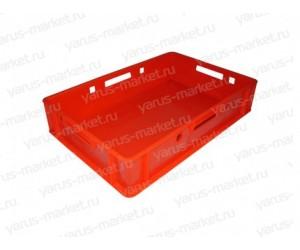 Пластиковый ящик, 600x400x120 мм., для мяса