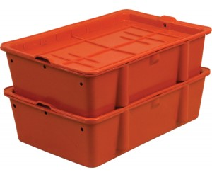 Пластиковый ящик, 502х332х1500 мм., сырково-творожный