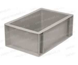 Пластиковый ящик, 300х200х120, для склада