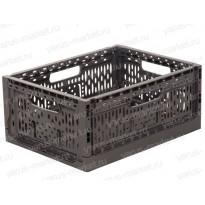 Пластиковый ящик, складной, 400x300x169 мм., для хранения мяса, рыбы