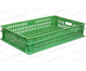 Пластиковый ящик, 740х460х145 мм., для перевозки хлеба