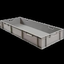 Универсальный пластиковый ящик 1000х400х230, серый