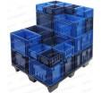Износостойкий пластиковый ящик, 396х297х280мм, RL-KLT