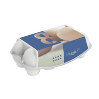 Контейнер для яиц категорий С2, С1 и СО 201×103.5×69мм