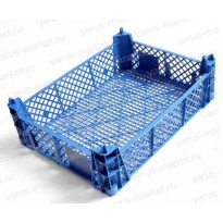 Пластиковый ящик, 400x300x110 мм., для грибов