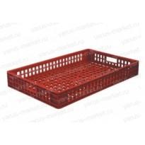 Пластиковый ящик, 740х460х102 мм., для хлебобулочных изделий
