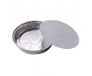 Картонно-алюминиевая круглая крышка