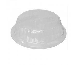 Круглая пластиковая крышка с высоким бортом
