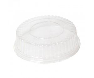 Круглая пластиковая крышка с гофрированным краем