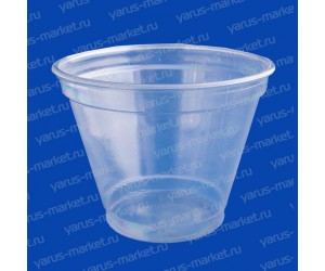 Пластиковый стакан, прозрачный, 200 мл, из ПЭТ