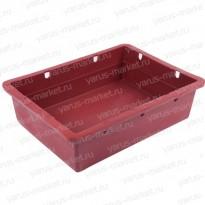 Пластиковый ящик, 532х400х141 мм., для транспортировки продуктов