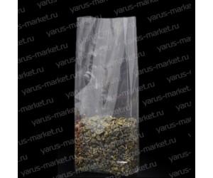 Пакет с прямоугольным дном, для пищевой продукции: сыпучие смеси, перец, чай