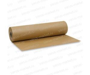 Крафт-бумага в рулоне, для упаковки пищевых продуктов, 0.47×10м., 0.78×10м