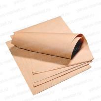 Крафт-бумага, 84×70см, бурая, для упаковки хлебобулочных изделий
