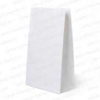 Крафт-пакет бумажный, белый, 25×12×8см