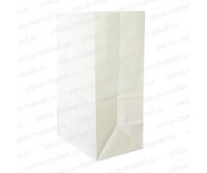 Крафт-пакет бумажный, белый, 29×18×12см
