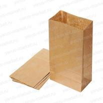Крафт-пакет, 19×11×9.5см., бурый, для фасовки и хранения хлеба