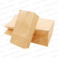 Крафт-пакет, 23×8×5см., для хранения и фасовки хлебобулочных изделий