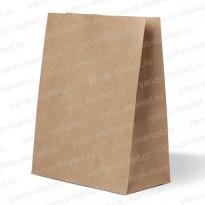 Крафт-пакет, 29×22×12см., для упаковки хлебобулочных и кондитерских изделий