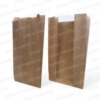 V-пакет для выпечки с окном, бурый