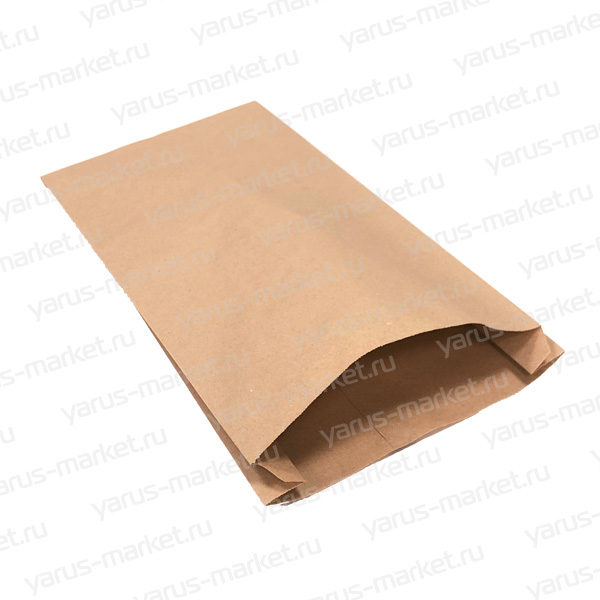 Крафт-пакеты бумажные сV-образным дном