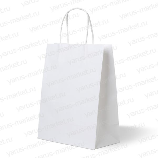 Белые крафт пакеты