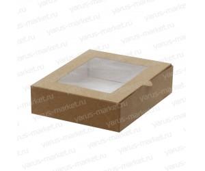 Картонная коробка, 20×16×5 см, для кондитерских изделий