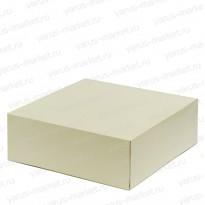 Картонная коробка, 29х29х10 см., для пирогов, тортов, эклеров