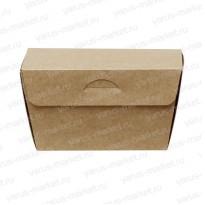 Картонная коробка с крышкой для кондитерских изделий, закрытая
