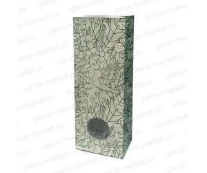 Пакет под чай/кофе (под 250гр.) 22,5х8х5 с окном