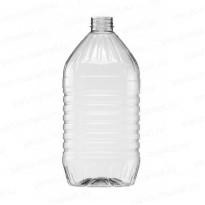 Бутылка под растительное масло 3 литра, ПЭТ