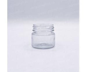 Маленькая прозрачная баночка ПЭТ 40 и 75 миллилитров