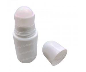 Пластиковый флакон для дезодоранта с роликовой насадкой