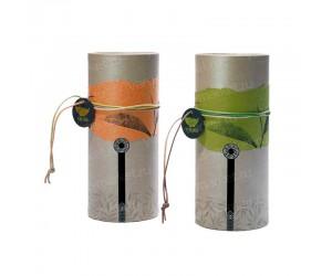 Картонный тубус для упаковки чая и кофе