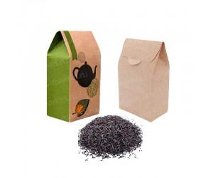 Бумажная коробка-домик для чая и кофе