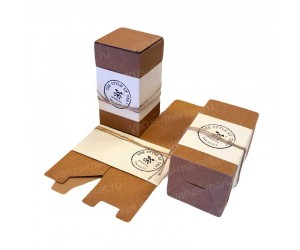 Вертикальная коробка для насыпного чая или кофе