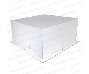 Короб для торта, белый