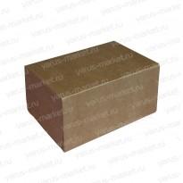 Коробка для печенья, самосборная, бурая