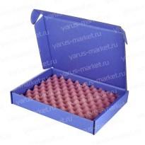 Картонная коробка с розовым антистатическим поролоном