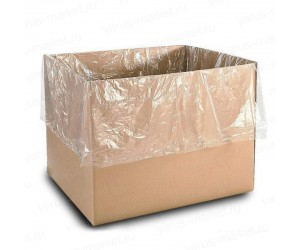 Мешок-вкладыш в коробку прозрачный
