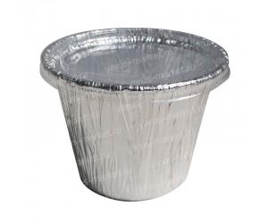 Форма для выпечки из фольги алюминиевой, 115 мл