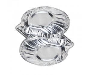 Одноразовый алюминиевый контейнер ракушка