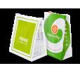 Крафт пакет с логотипом без ручек  — бумажная упаковка