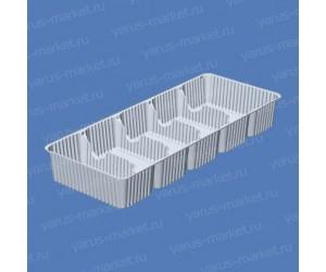 Коррекс ПК-588 из ПЭТ, 244x98x35 см., белый, прозрачный