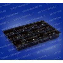 Коррекс ИП-35 из ПЭТ, черный, для фасовки кондитерских изделий
